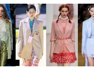 2021 SS Fashion Trend on Women's Suits-2021春夏女士流行西装趋势