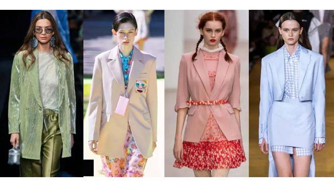 2021 SS Fashion Trend on Women's Suits-2021春夏女士流行西装趋势