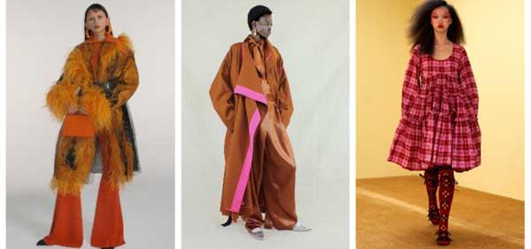 Key Color -Ginger Biscuit and Volume Dress