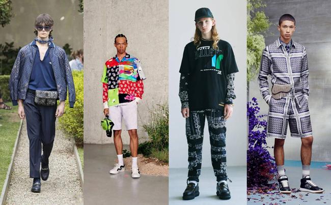 Paisley trend in menswear