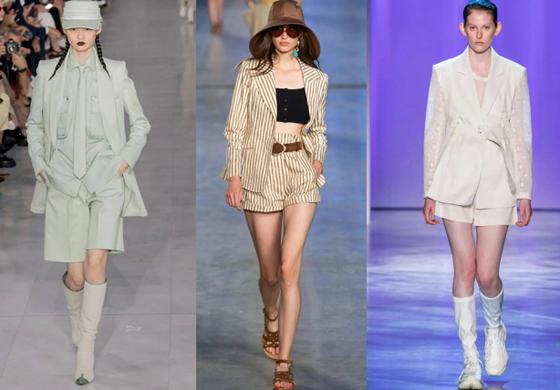Shorts suits 短裤西服套装