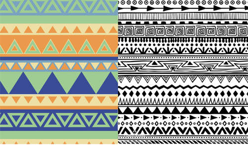 The design pattern-Boho-chic
