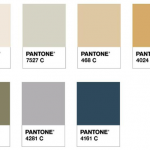 Neutrals in Pantone Palette