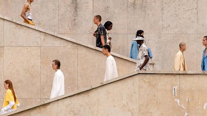 Splendid Highlights in Paris Fashion Week Menswear SS2022