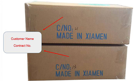 reference image for custom-made outer packaging (long side/right)