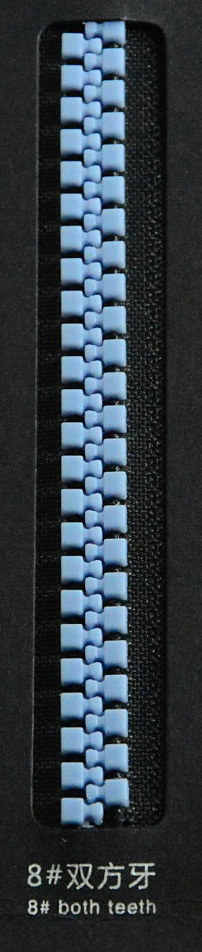 8#both teeth | SBS Zipper