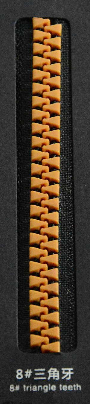 8#triangle teeth | SBS Zipper