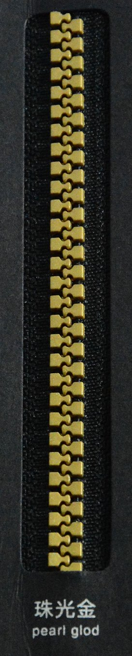 pearl gold | SBS Zipper