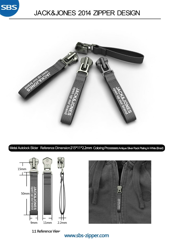 Backpack Zipper Pulls Supplier 14AMC003 | SBS Zipper