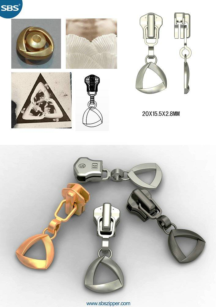 Zipper Puller Design Wholesale 14AWC013 | SBS Zipper