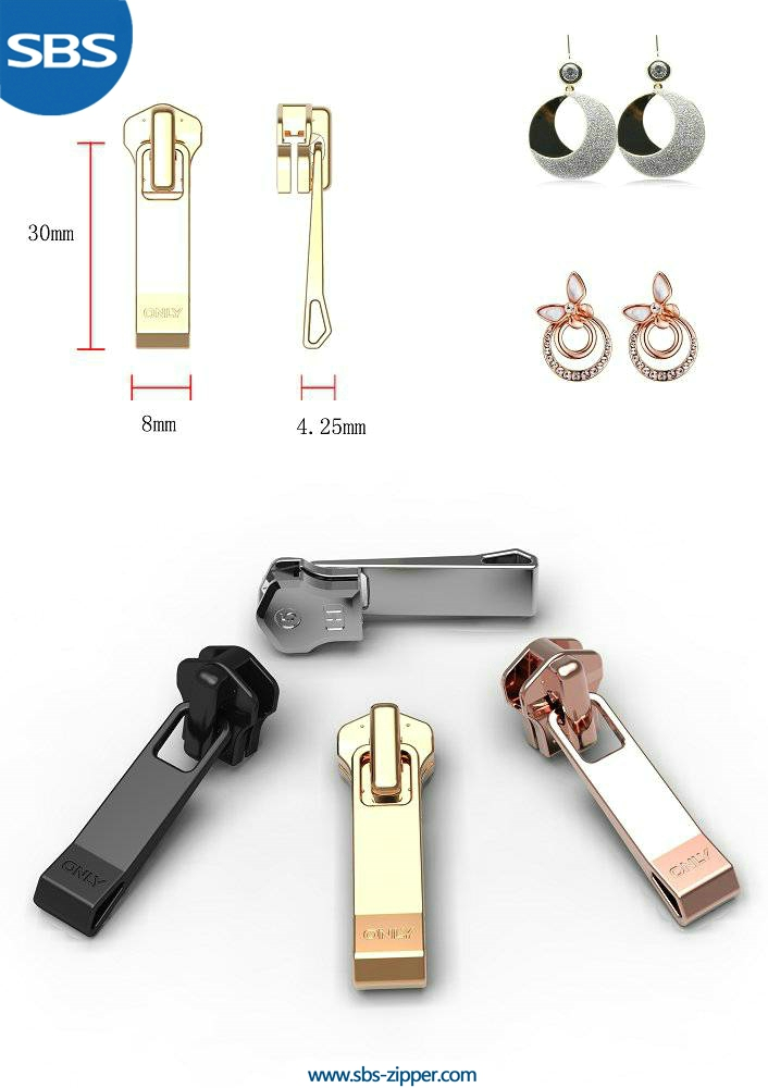 Heavy Duty Zipper Pulls Manufacturer 15AWC007 | SBS Zipper