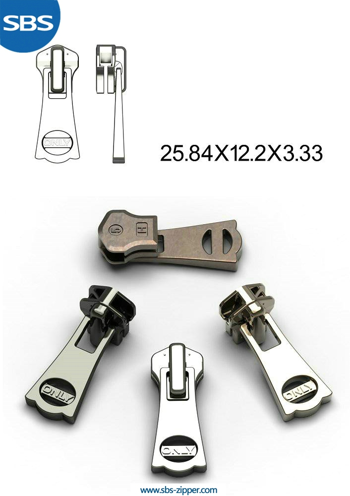 Heavy Duty Zipper Pulls Wholesale 15AWC013 | SBS Zipper