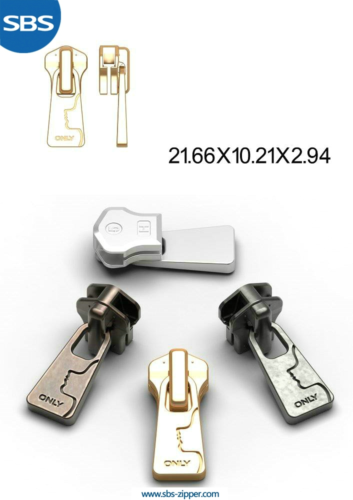 Custom Metal Zipper Pulls Wholesale 15AWC014 | SBS Zipper
