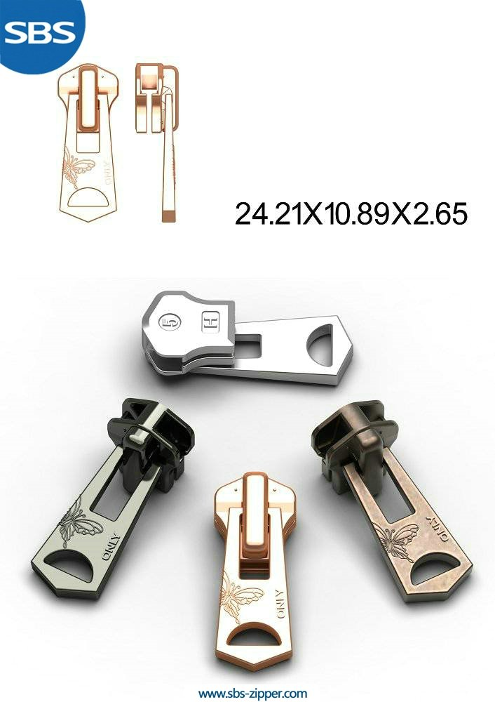 Luggage Zipper Pulls Manufacturer 15AWC016 | SBS Zipper