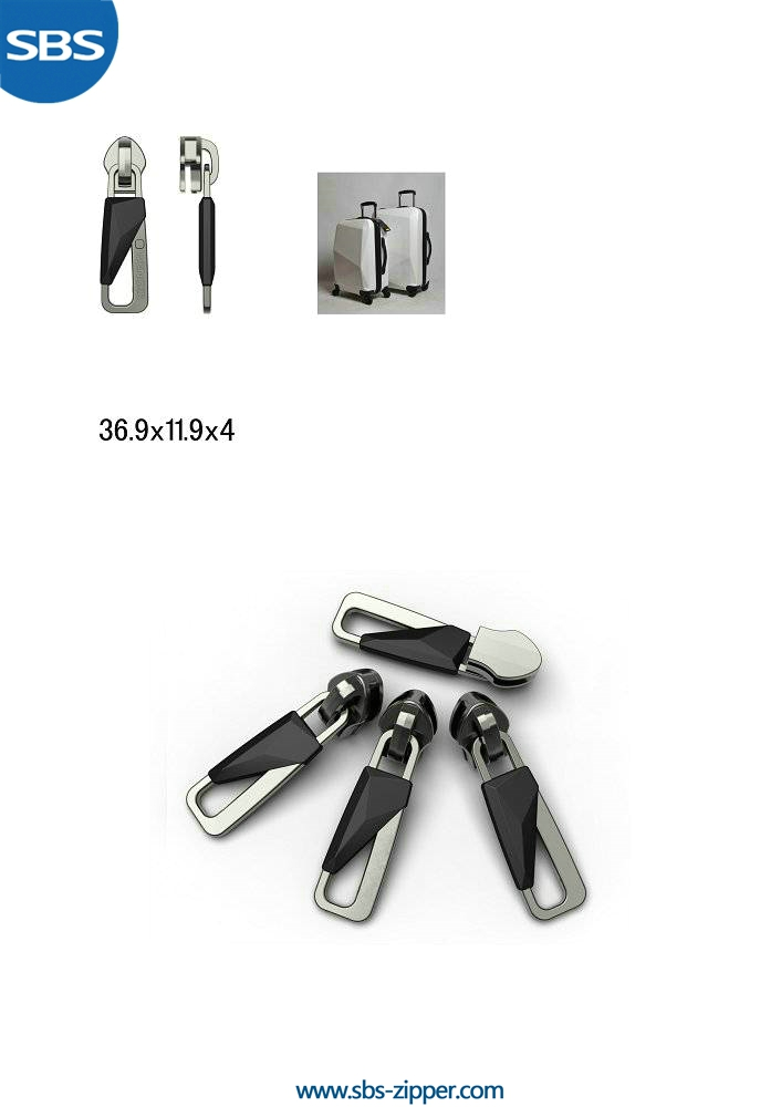 Custom Zipper Pulls Manufacturer 15SC006 | SBS Zipper
