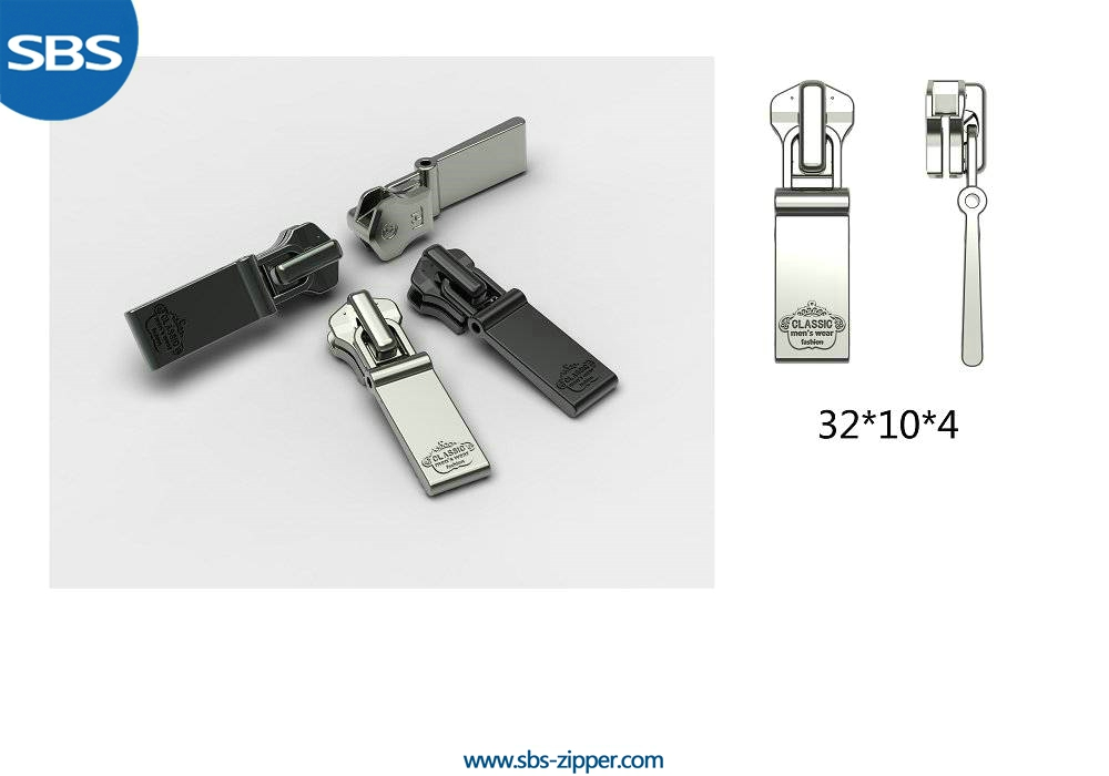 Metal Zipper Pulls Wholesale 15SMC004 | SBS Zipper