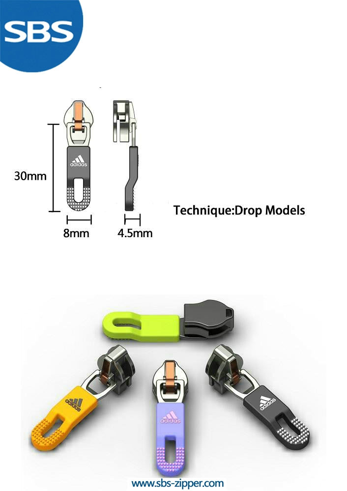 Decorative zipper pulls manufacturer 15SSO010 | SBS Zipper
