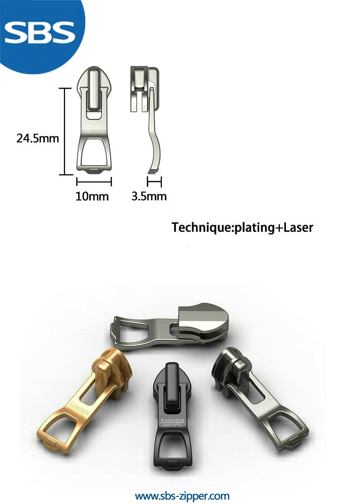Custom Metal Zipper Pulls Supplier 15SSO017 | SBS Zipper