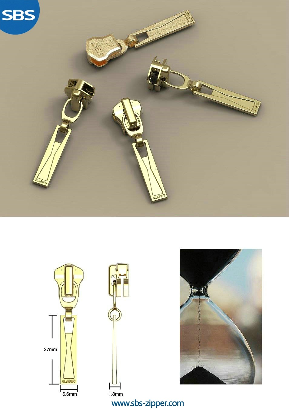 Zipper Pulls For Jacket Supplier 16ASB019 | SBS Zipper