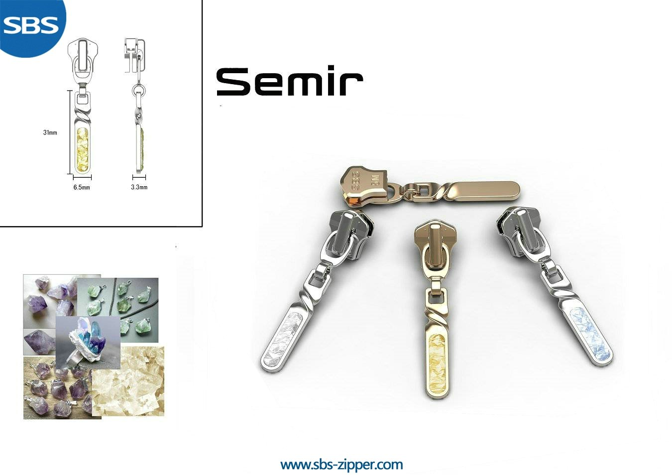 Heavy Duty Zipper Pulls Supplier 16AWC002 | SBS Zipper