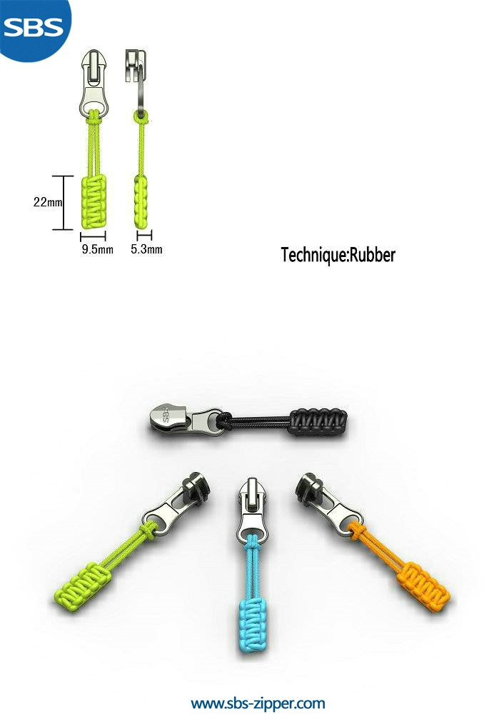 Zipper Pulls Custom Wholesale 16SSO001 | SBS Zipper