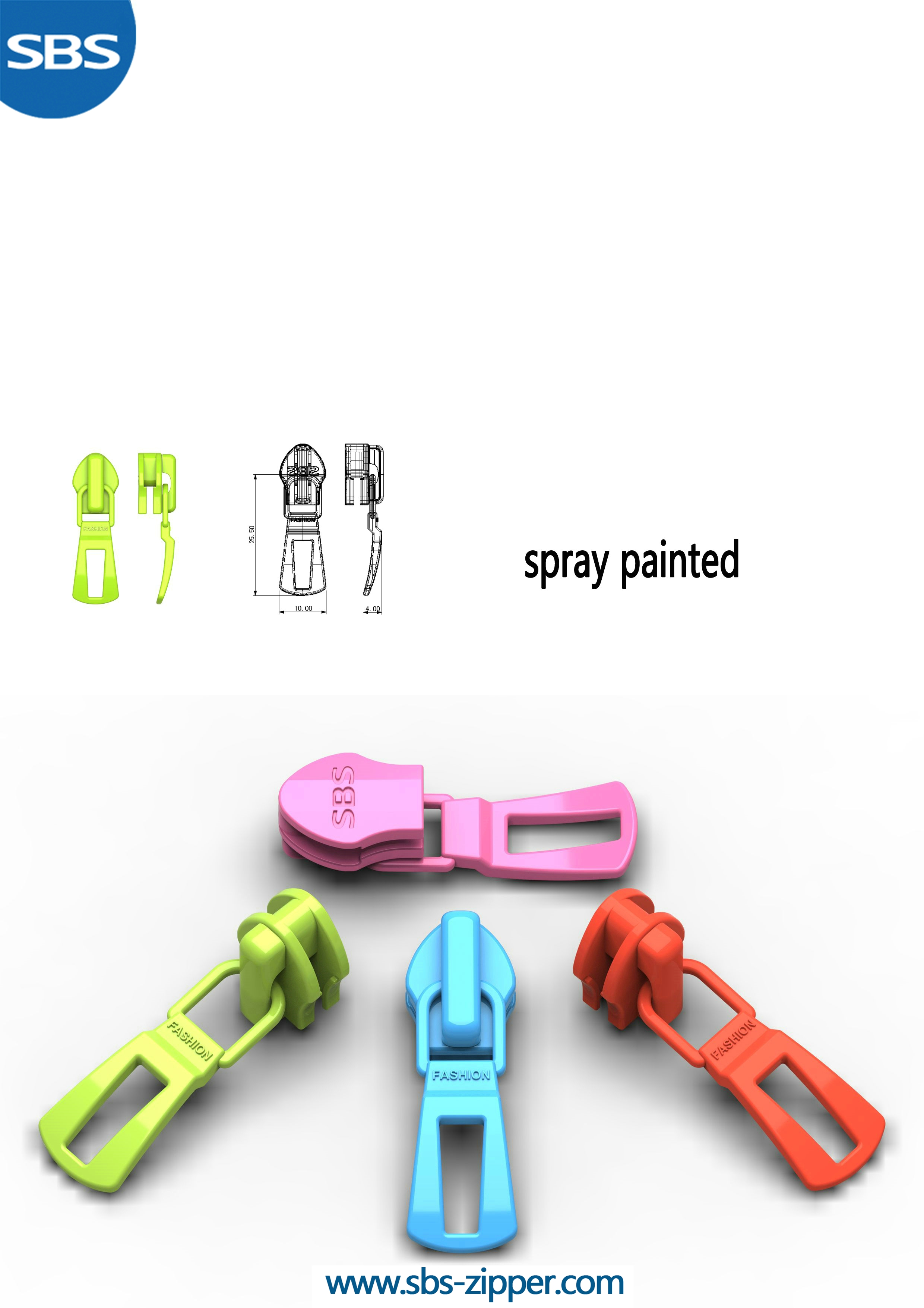 Metal Zipper Pulls Supplier 17SCC029 | SBS Zipper