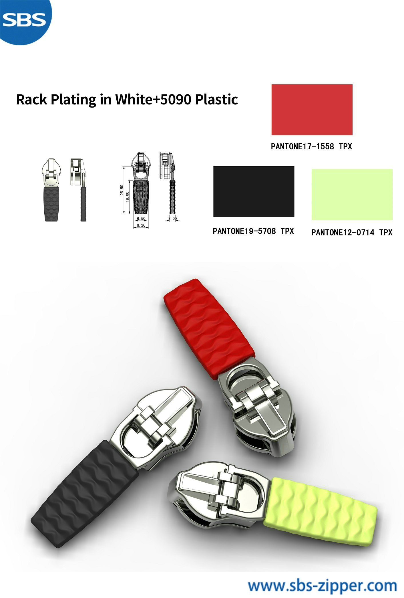 Zipper Pulls For Jacket Wholesale 18ASO031丨sbs-zipper.com