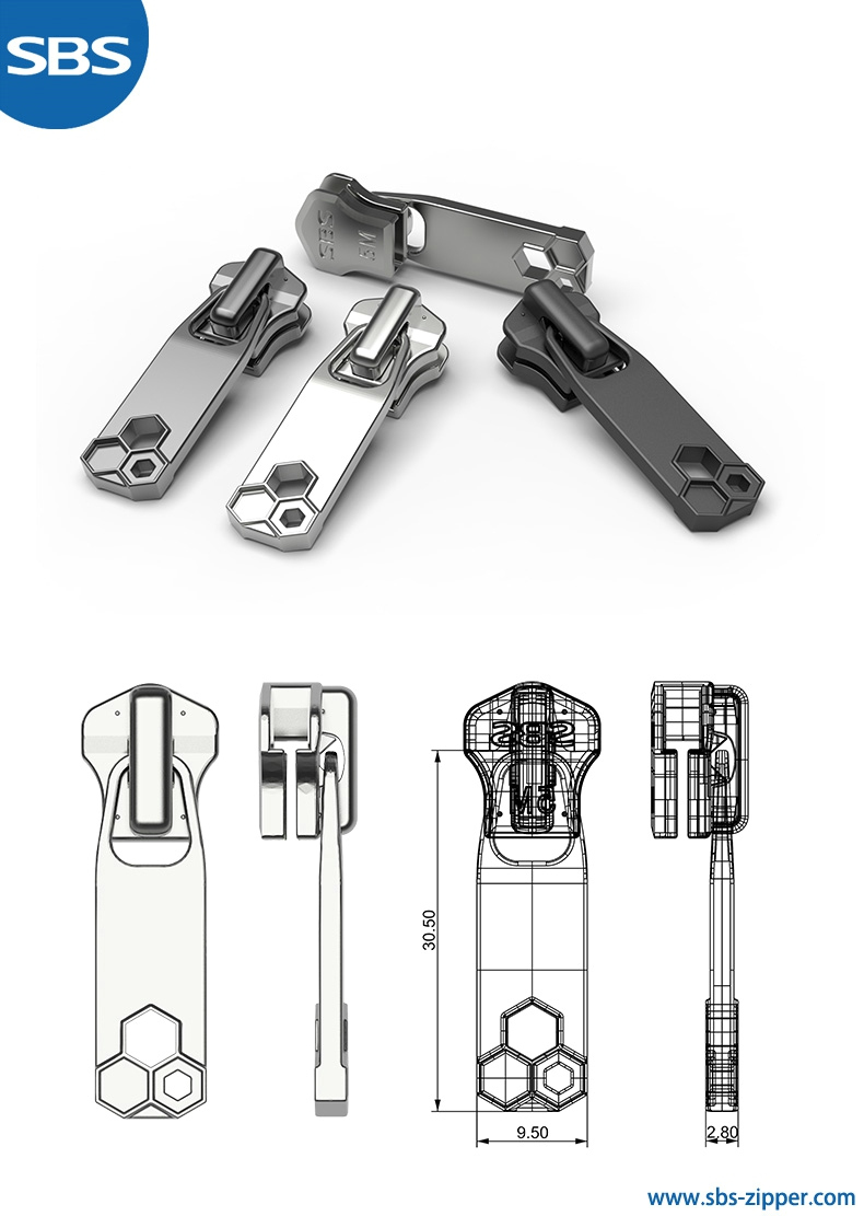 Zipper Puller Design Supplier 18SMC020 | sbs-zipper.com
