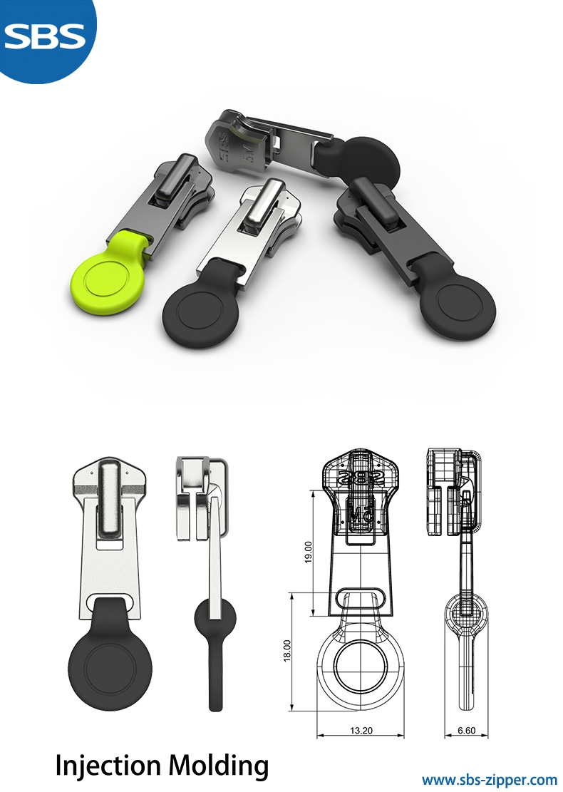 Zipper puller design provider   18SMC021 | sbs-zipper.com