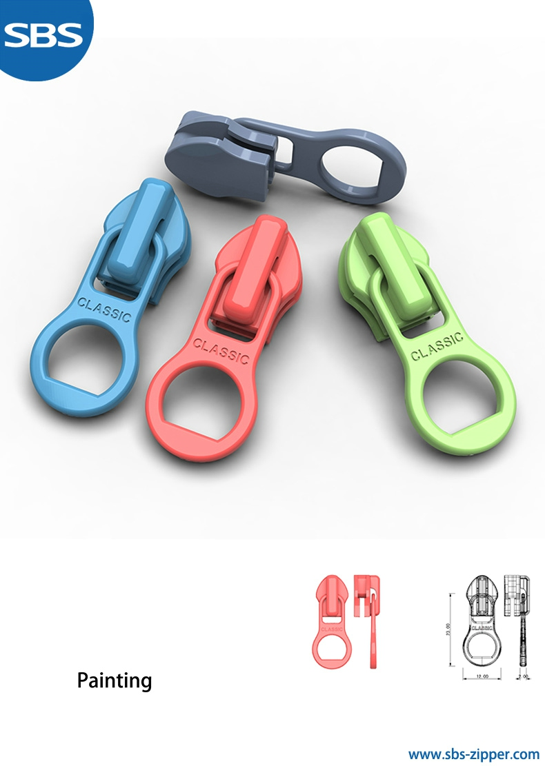 Zipper Pulls Custom Manufacturer 18SSO005 | sbs-zipper.com