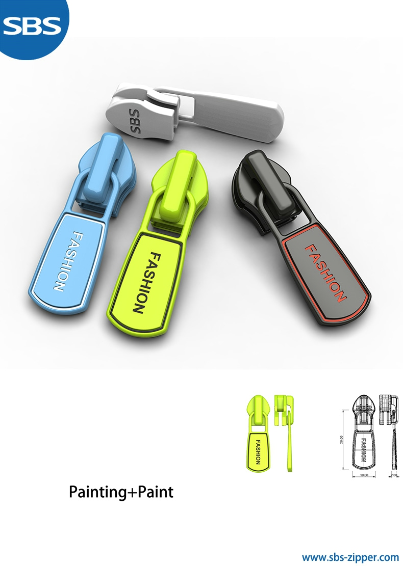 Customized zipper pulls provider 18SSO010 | sbs-zipper.com