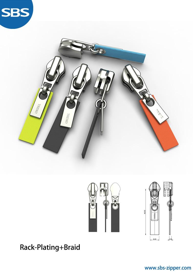 Customized Zipper Pulls Manufacturer  18SSO011 | sbs-zipper.com