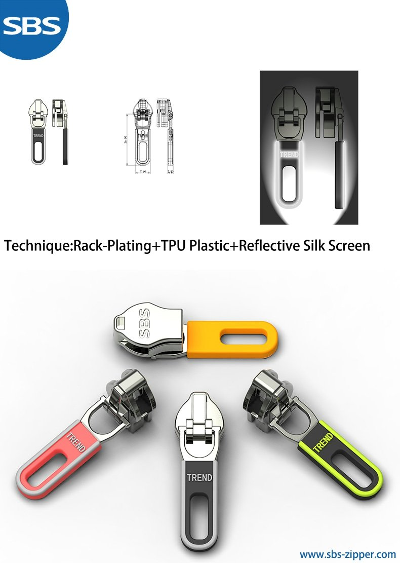 Decorative Zipper Pulls Provider 18SSO027 | sbs-zipper.com