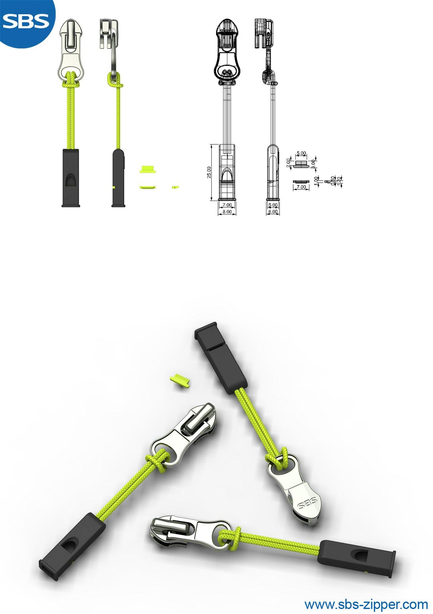 Zipper Parts Factory 19SSO025丨SBS Zipper