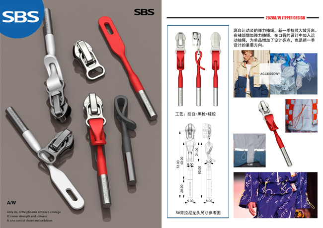 Custom Zipper Pulls Manufacturer    20AMC025丨sbs-zipper.com