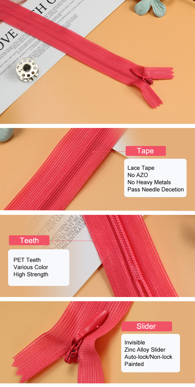 Invisible Zipper (Lace Tape) manufacturer