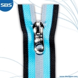 Reflective Coil Zipper