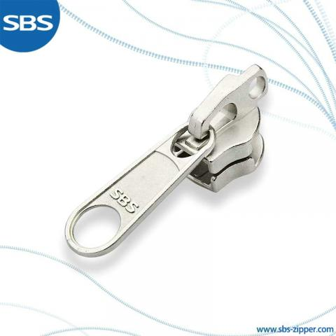 Key lock slider for double long chain