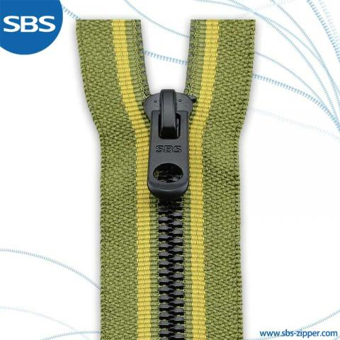 Plastic Zipper Woven Colored Tape